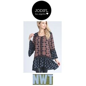 NWT Jodifl Los Angeles Blouse Size Small